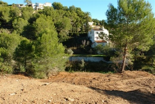 Plot for Sale in Benissa Costa