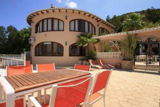 Villa for sale in Benitachell, with open v...