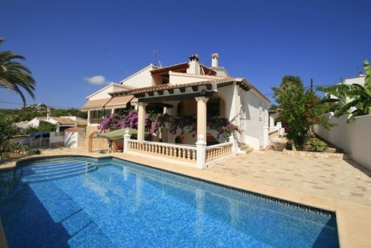 Villa for sale in Moraira, Pla del Mar.