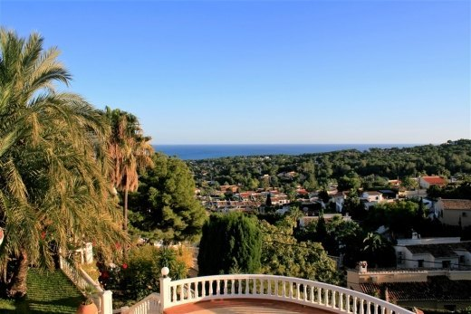 Villa for Sale in Moraira, with panoramic ...
