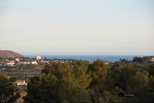 Rustic sea view plot for sale in Teulada