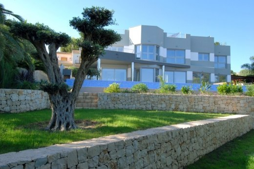 First line villa for sale in Calpe
