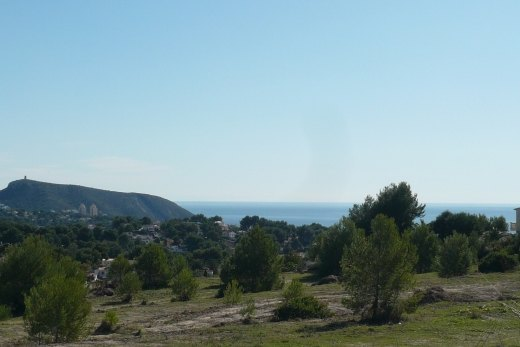 Plots for sale with sea views