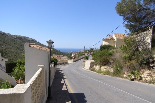 Seaview plot for sale in Valle del Portet,...