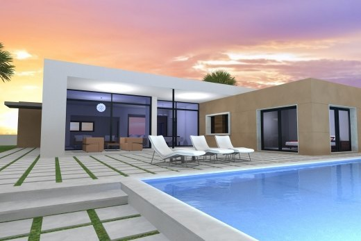 New constructed villa for sale in Moraira