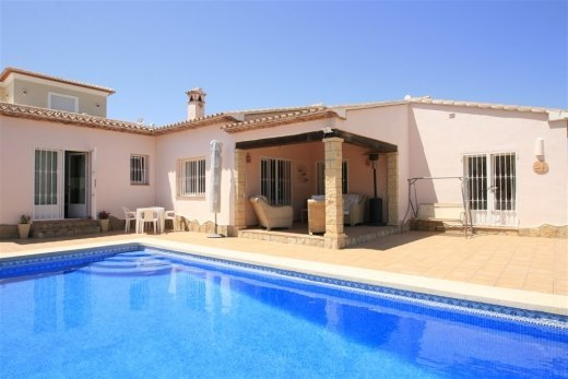 Sea view villa for Sale in Moraira.