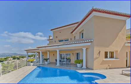 Villa for sale in Moraira, La Arnella