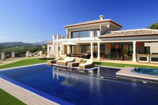 Spectacular villa for sale in Moraira, La ...
