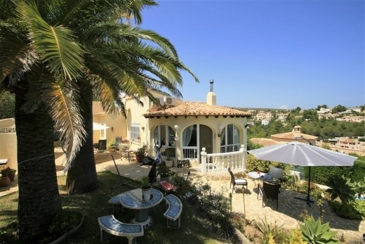 Villa for sale in Benitachell, Spain.
