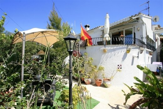 Bungalow for sale in Moraira.