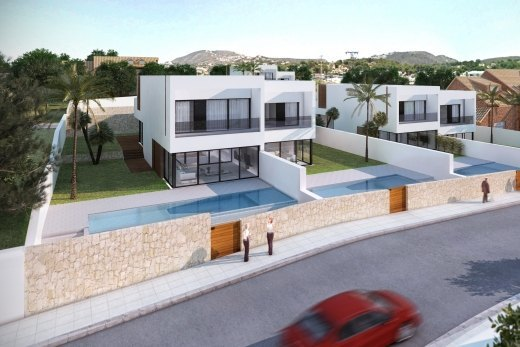 6 Semi-detached new builds for sale in Mor...