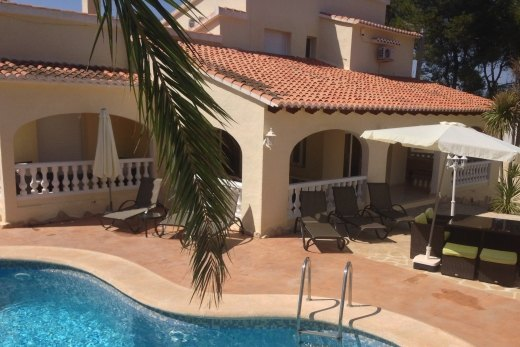 Large family villa in Cap Blanc, Moraira