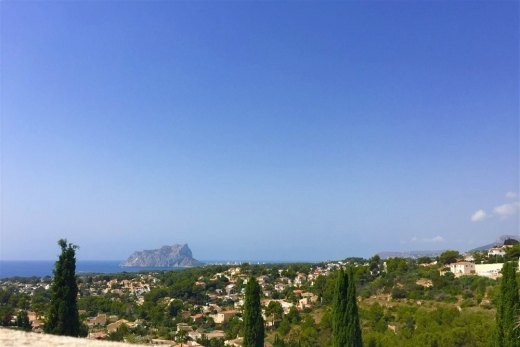 Plot with fantastic sea views for sale in ...