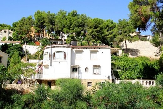 Villa for sale in Benissa coast.