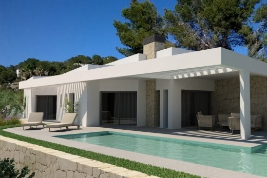 New build project for sale in Moraira