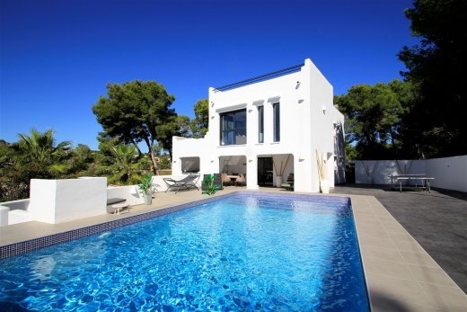 Ibiza style villa for sale in Moraira, Clo...