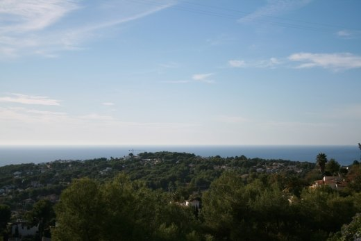 Building plot for sale in Moraira, Benimei...