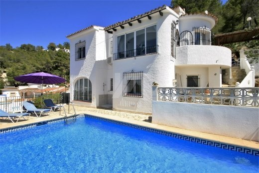 Property for Sale in Moraira, mountain vie...