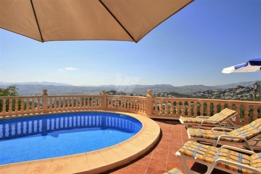 Villa for Sale Moraira, panoramic views.