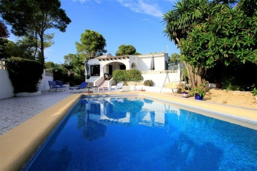 Charming Spanish villa for sale in Moraira