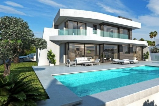 New proyect for sale in Moraira