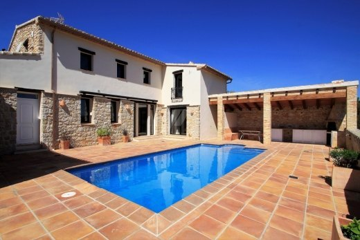 Luxury finca for sale in Benissa, open vie...