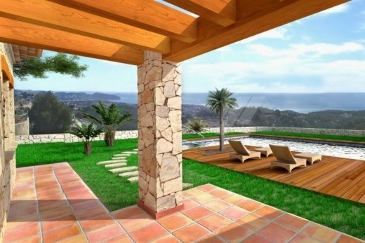 Luxury new build finca for sale in Benissa...