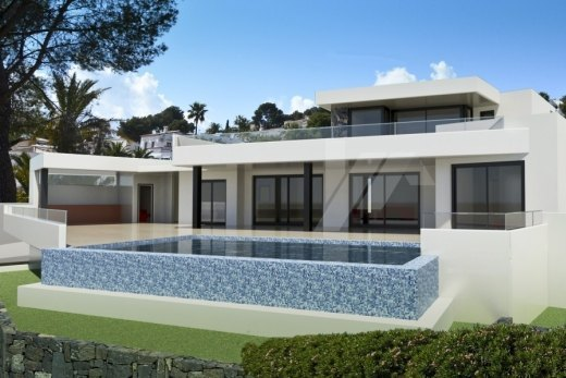 Sea view new build for sale in Moraira, Cl...