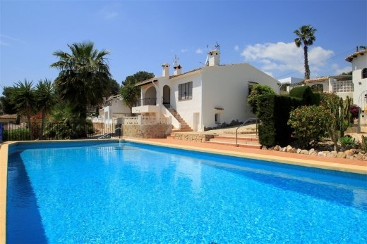 Bungalow for sale in Moraira, Costa Blanca