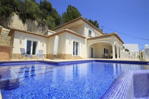 Luxury villa for sale in Moraira, panorami...