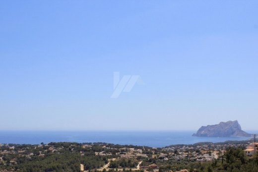 Plot for sale in Moraira, panoramic sea vi...