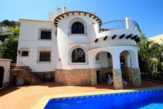 Luxury villa for sale in Moraira, walking ...