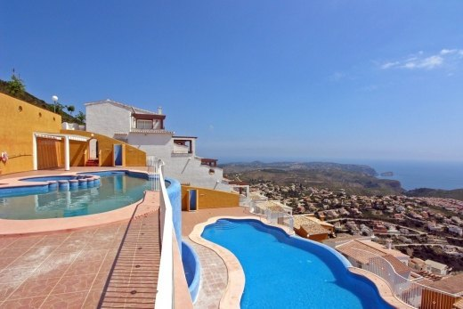 Apartment for sale in Benitachell, panoram...