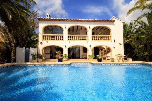 Villa for sale in Benitachell, panoramic s...