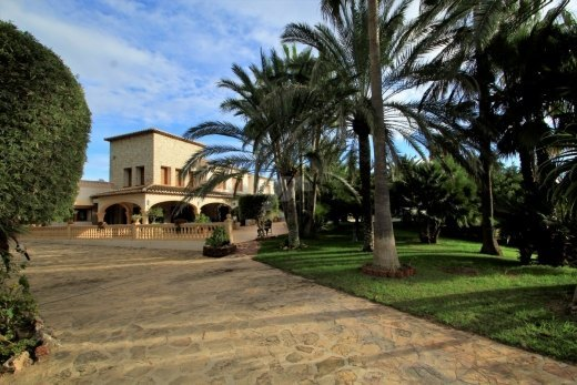 Luxury finca for sale in Moraira, Costa Bl...