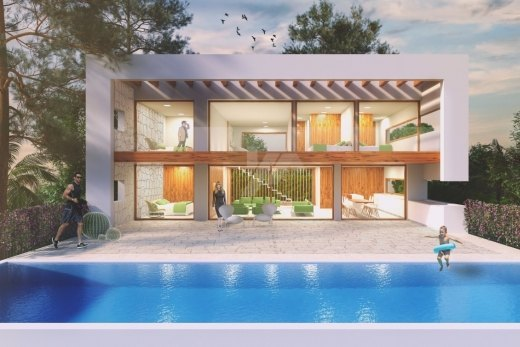 Sea view new build for sale in Moraira, Co...