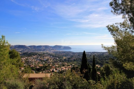 Sea view plot for sale in Moraira, Costa B...
