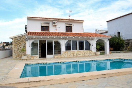 Semi-detached villa for sale in Benitachel...