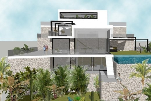 Luxury project for sale in Moraira, Costa ...