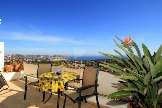 Sea view bungalow for sale in Moraira, Cos...