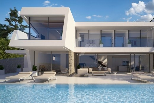 Luxury sea view villa for sale in Moraira,...