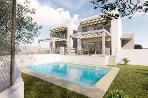 Semidetached villa for sale in Moraira, Co...