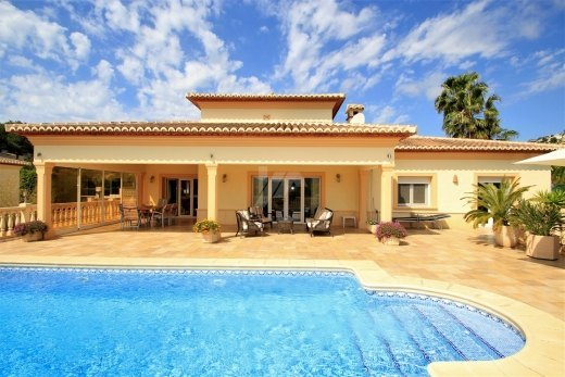 Immaculate villa for sale in Moraira, Cost...