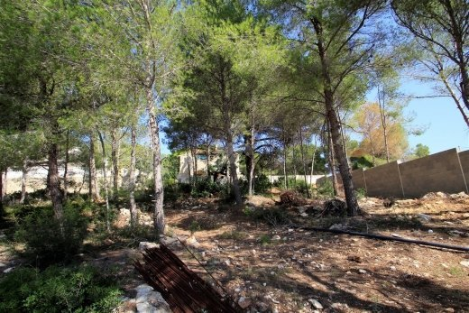 Plot for sale in Moraira, Costa Blanca.