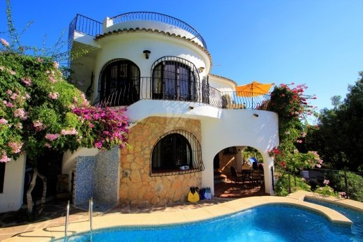 Villa for sale in Moraira, Costa Blanca.