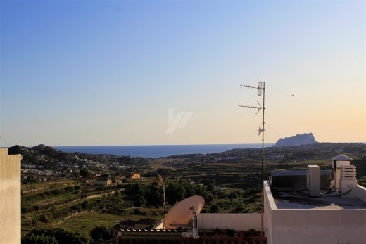 Sea view apartment for sale in Benitachell...
