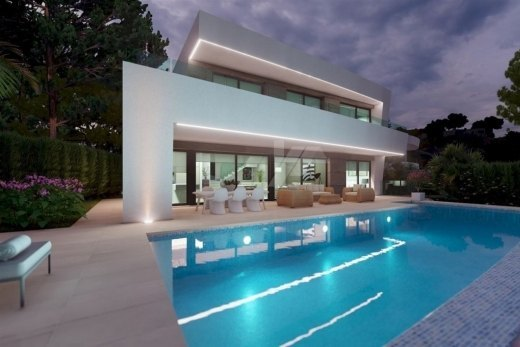 Luxury new build villa for sale in Moraira...