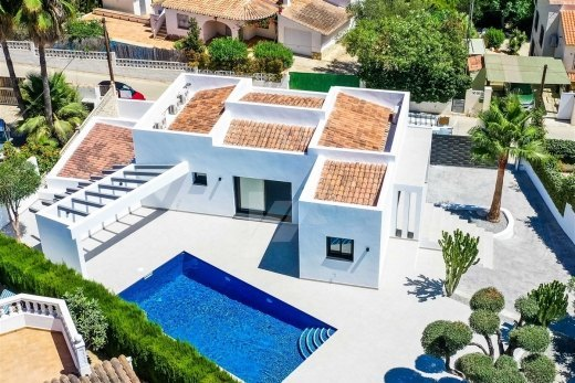 Modern villa for sale in Moraira, Costa Bl...