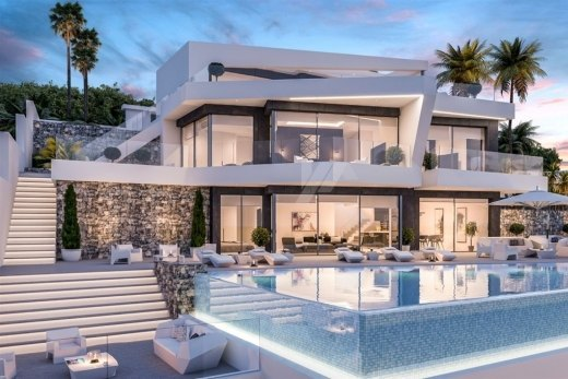 Luxury sea view villa for sale in Benissa,...