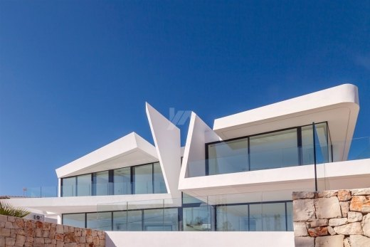Luxury new build for sale in Moraira, sea ...